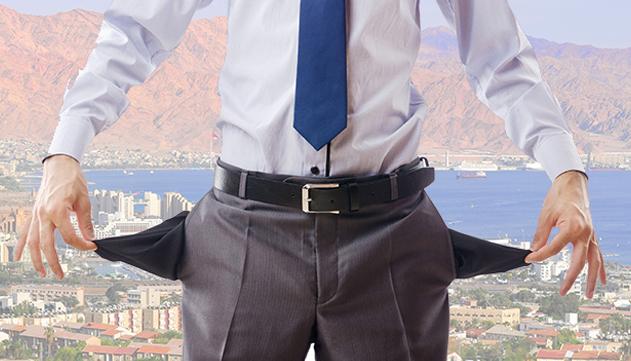 אילת עמדה בראש טבלת  האבטלה בחודש ינואר