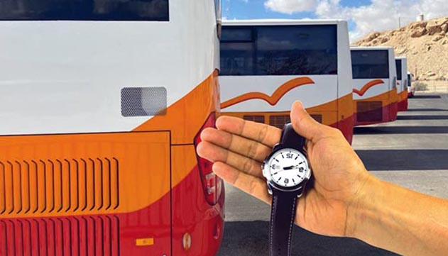 קו התחבורה הציבורית של חבל  אילות ממשיך להשתרך מאחור