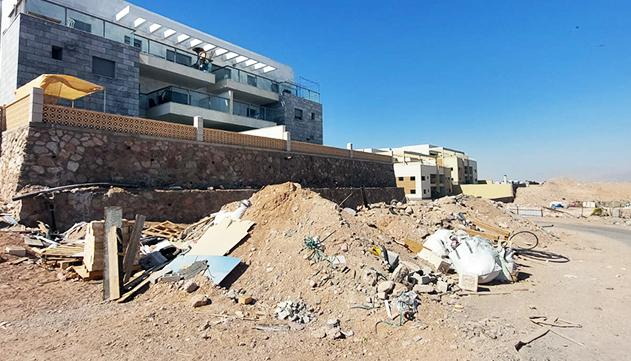 אבל מה עם פינוי פסולת הבניין?